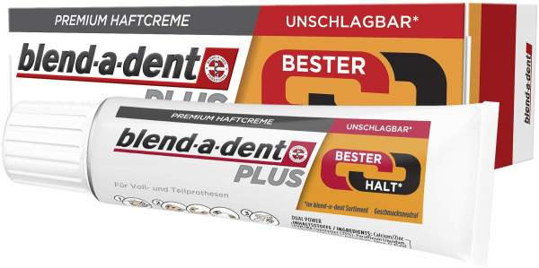Blend A Dent Plus Bester Halt 40 g Haftcreme