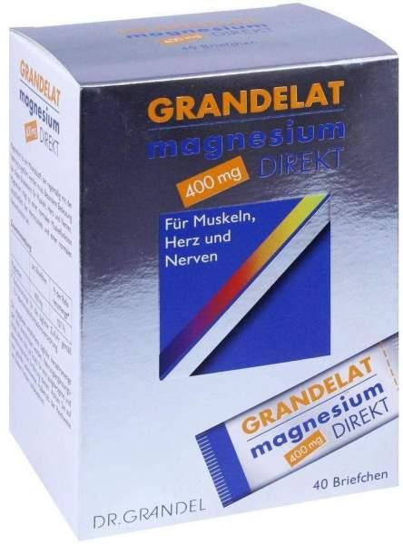 Magnesium Direkt 400 mg Grandelat Pulver 40 Briefchen