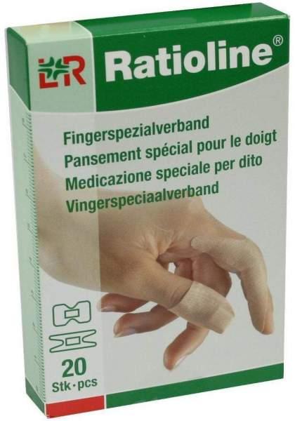 Ratioline Elastic Fingerspezialverbände in 2 Größen 20 Pflaster