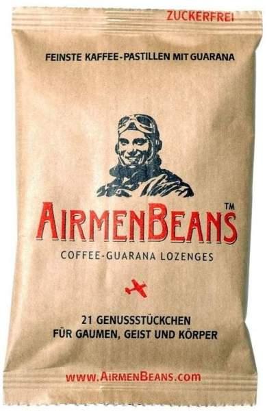 AirmenBeans Coffee Guarana Lozenges 21 Pastillen