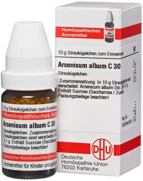 Arsenicum Album C30 Dhu 10 G Globuli