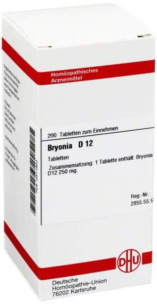 Bryonia D 12 200 Tabletten