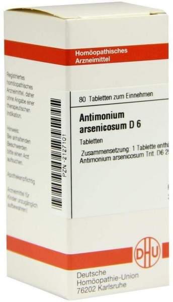 Antimonium Arsenicosum D 6 Tabletten