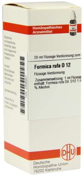 Dhu Formica Rufa D12 Dilution