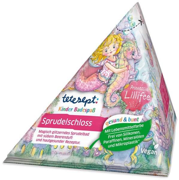 Tetesept Kinder Badespaß Sprudelschloss Prinzessin Lillifee 70 g