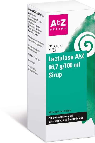 Lactulose Abz 66,7 G Pro 100 ml 200 ml Sirup