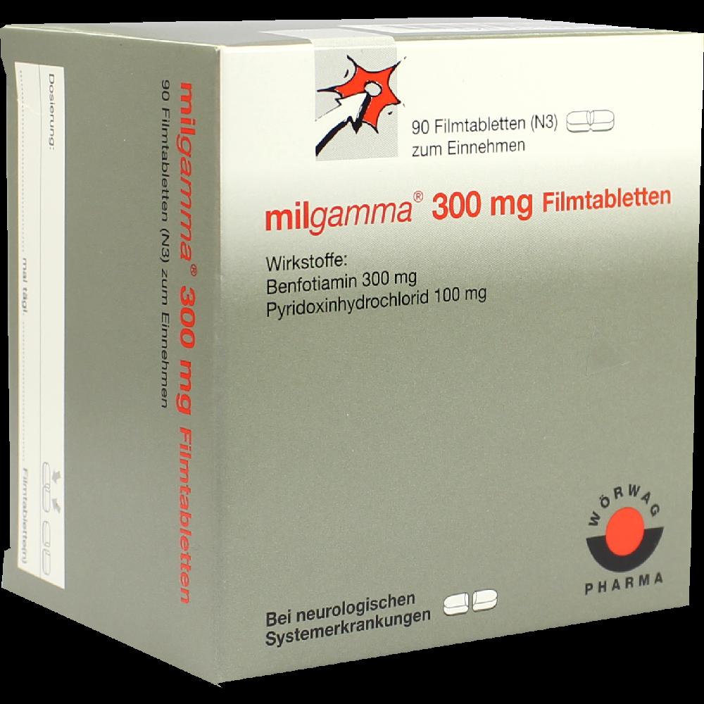Milgamma 300 mg 90 Filmtabletten