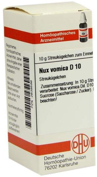 Nux Vomica D 10 Globuli