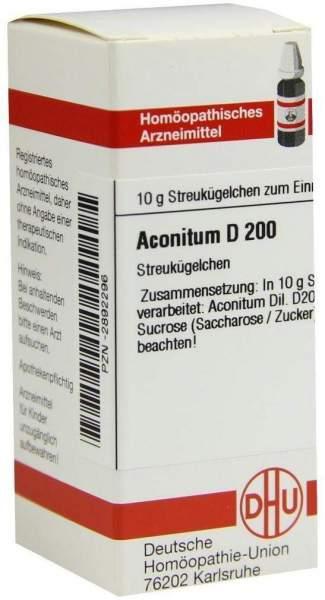 Aconitum D200 10 G Globuli