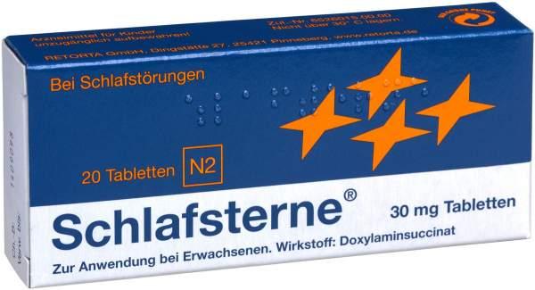 Schlafsterne 20 Tabletten