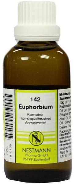 Euphorbium Komplex Nr. 142 50 ml Dilution