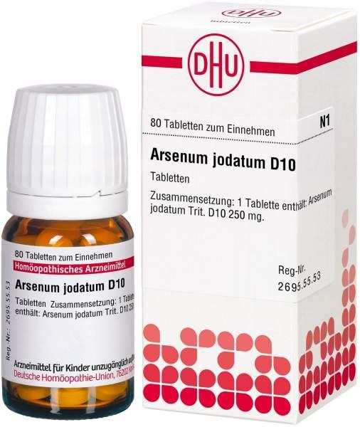 Arsenum Jodatum D 10 Tabletten
