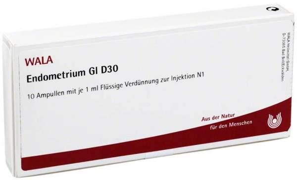 Endometrium Gl D 30 Ampullen