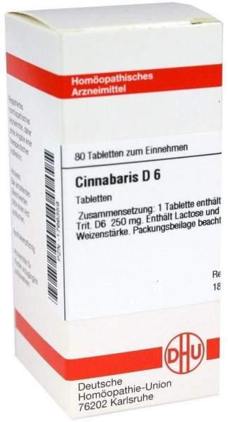 Cinnabaris D 6 80 Tabletten
