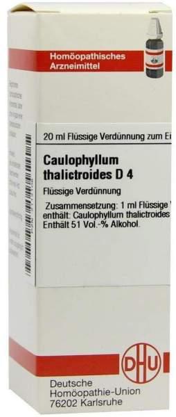 Caulophyllum Thalictroides D 4 20 ml Dilution