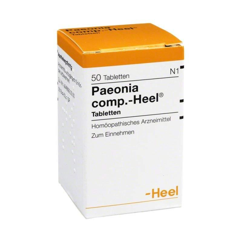 Paeonia comp. Heel 50 Tabletten