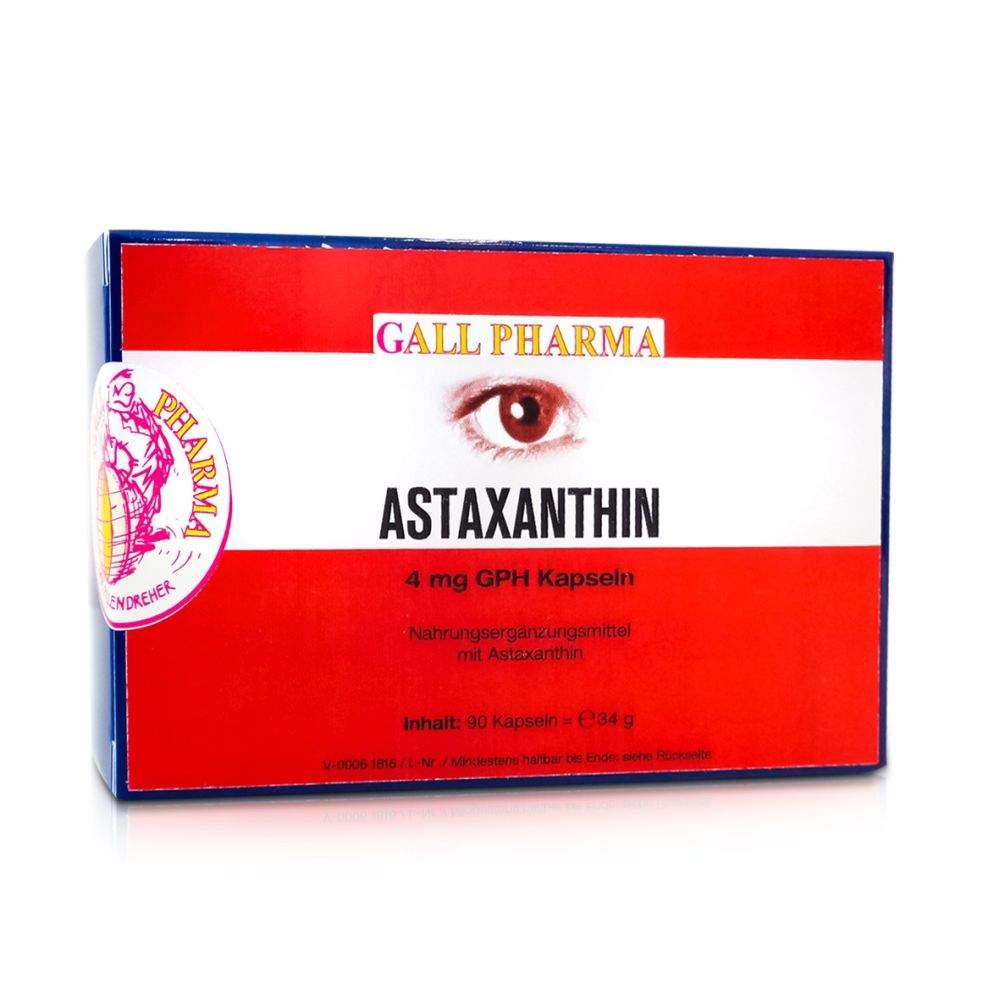 Astaxanthin 4mg Kapseln Gph