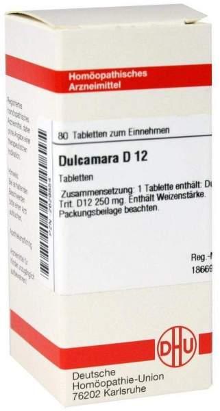 Dulcamara D12 80 Tabletten
