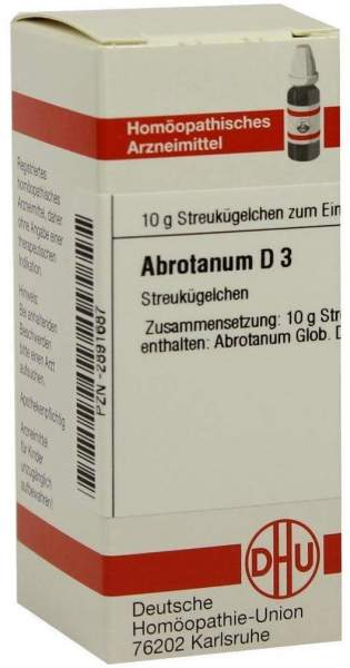 Abrotanum D 3 Globuli