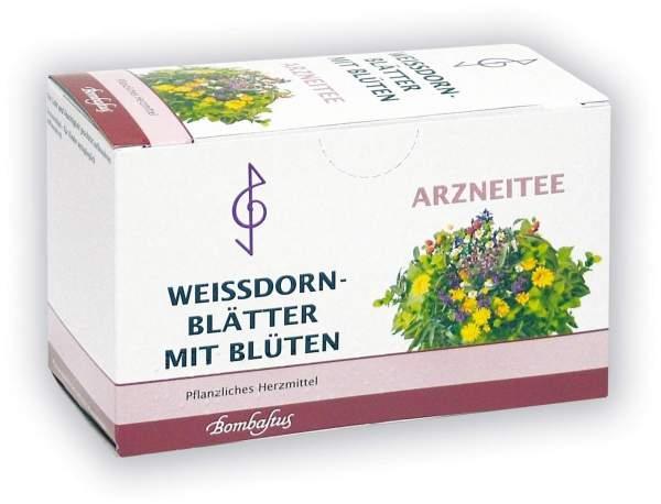 Weißdornblätter mit Blüten Tee Filterbeutel 20 x 1.5 Filterbeutel