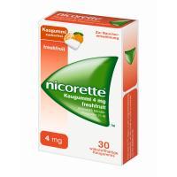 Nicorette 4 mg freshfruit Kaugummi 30 Stück