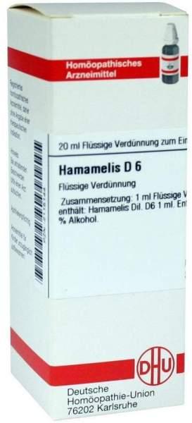 Hamamelis D 6 20 ml Dilution