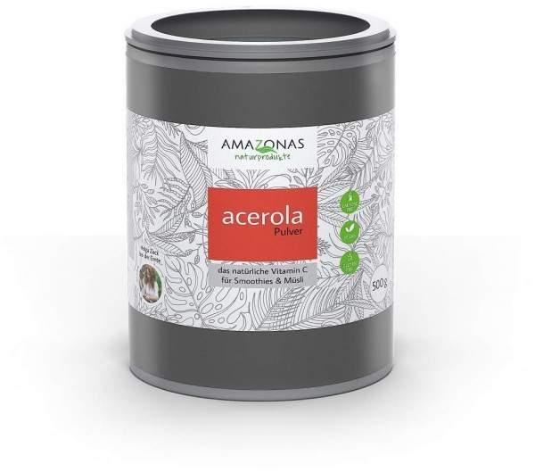 Acerola 100% Natürliches Vitamin C 500 G Pulver