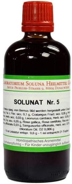 Solunat Nr.5 100 ml Tropfen
