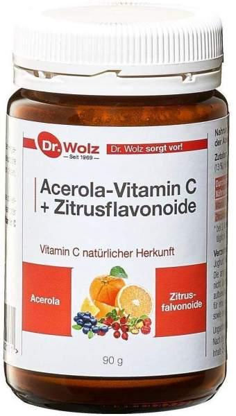 Vitamin C + Bioflavonoide Dr.Wolz Pulver