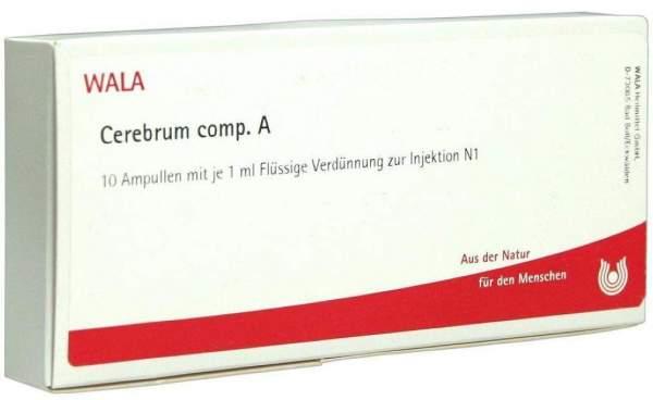 Cerebrum Comp. A Ampullen 10 X 1 ml