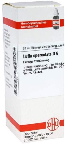 Luffa Operculata D6 Dhu 20 ml Dilution