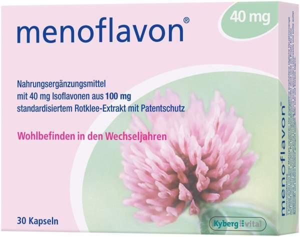 Menoflavon 40 mg Kapseln 30 Kapseln