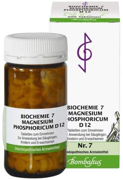 Biochemie 7 Magnesium Phosphoricum D12 200 Tabletten