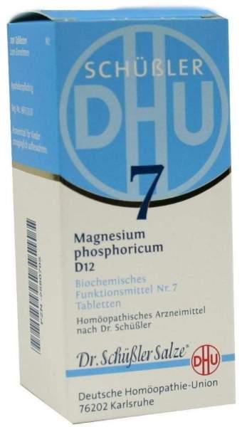 Biochemie Dhu 7 Magnesium Phosphoricum D12 200 Tabletten