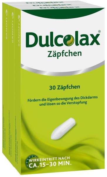 Dulcolax 30 Zäpfchen