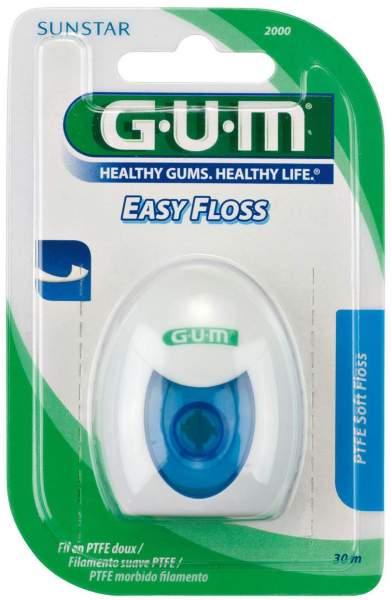 Gum Eez Thru Floss Teflon Zahnseide 50 M 1 Stück