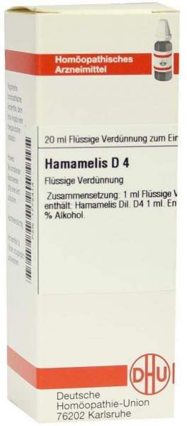 Hamamelis D4 Dhu 20 ml Dilution