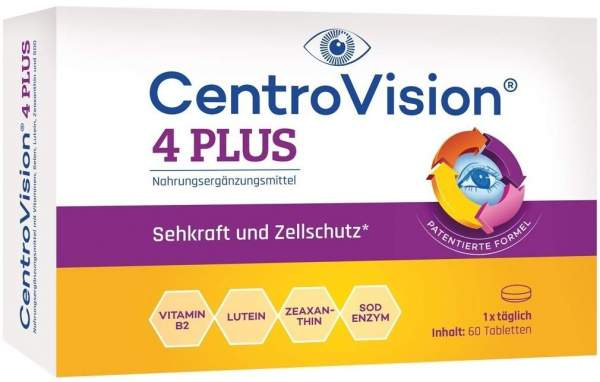 Centrovision 4 plus 60 Tabletten