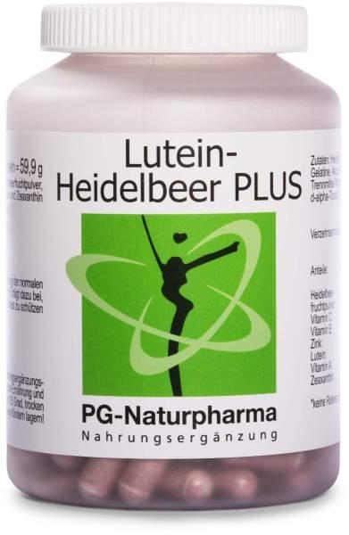 Lutein-Heidelbeer plus 160 Kapseln