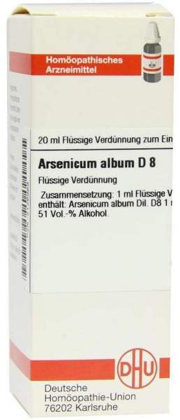 Arsenicum Album D8 20 ml Dilution