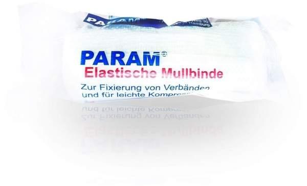 Mullbinden elastisch 8 cm mit Cellophan 1 Binde