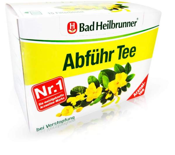 Bad Heilbrunner Abführ Tee 15 Filterbeutel