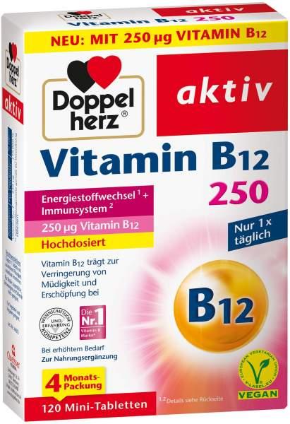 Doppelherz aktiv Vitamin B12 250 µg 120 Tabletten