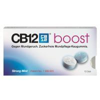 CB12 Boost Kaugummi bei Mundgeruch 10 Kaugummis