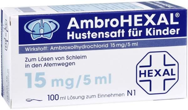 Ambrohexal Hustensaft für Kinder 100 ml