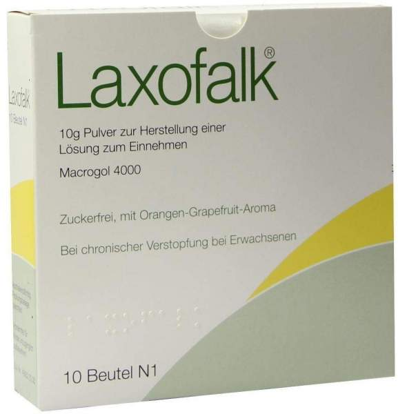 Laxofalk 10 Beutel Pulver