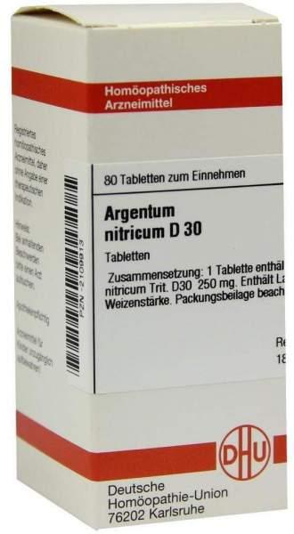 Argentum Nitricum D 30 Tabletten