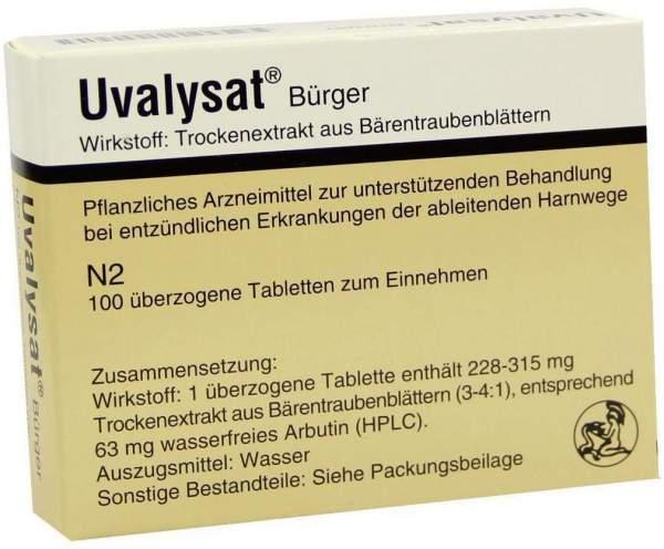 Uvalysat Bürger 100 Überzogene Tabletten
