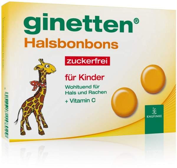 Ginetten Kinder Halsbonbons 24 Bonbons
