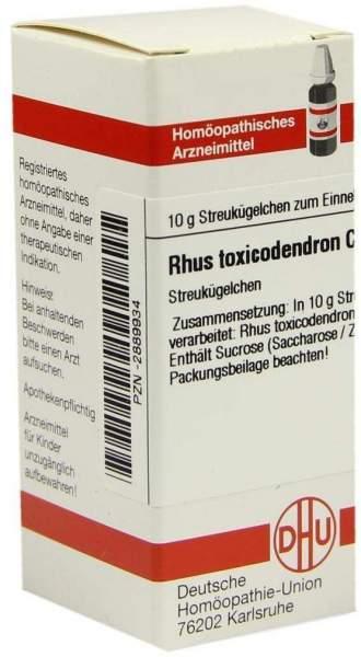 Rhus Toxicodendron C200 10 G Globuli